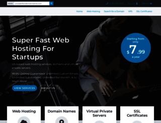 sethhost.com screenshot