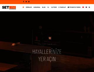 setline.com.tr screenshot
