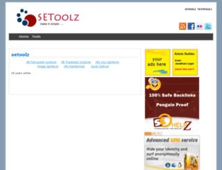 setoolz.com screenshot