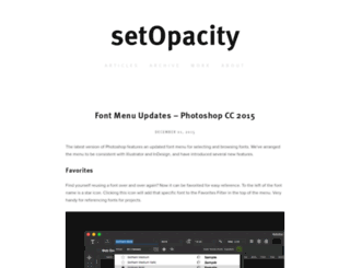 setopacity.com screenshot