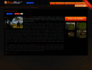 settlers-online.funhub.pl screenshot