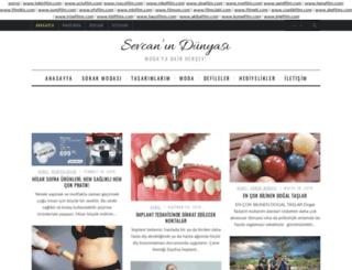sevcanindunyasi.com screenshot