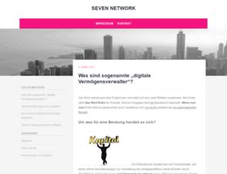 seven-network.eu screenshot