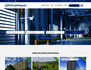 sevendenegocio.net screenshot
