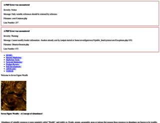 sevenfigurewealth.com screenshot