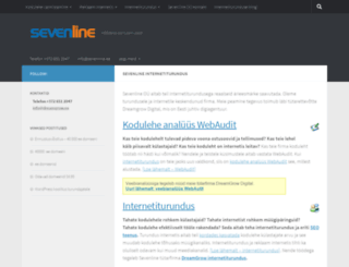 sevenline.ee screenshot
