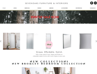 sevenoaksfurniture.co.uk screenshot