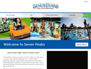 sevenpeaks.zenapply.com screenshot