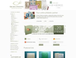 sevenstamps.com screenshot