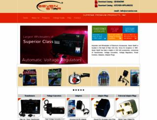 sevenstar.com screenshot