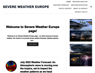severe-weather.eu screenshot