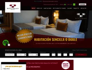 sevillapalace.com.mx screenshot