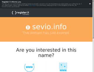 sevio.info screenshot