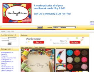 sewbuyit.com screenshot