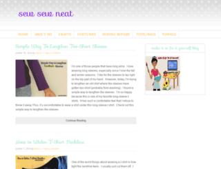sewsewneat.com screenshot