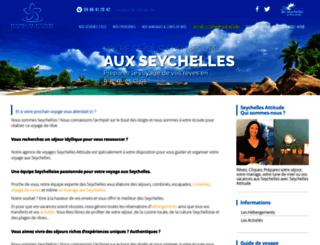 seychelles-attitude.com screenshot