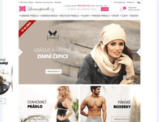 sezanm.cz screenshot