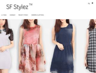 sf-stylez.com screenshot