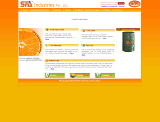 sfa.com.pk screenshot