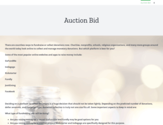 sfa2015.auction-bid.org screenshot