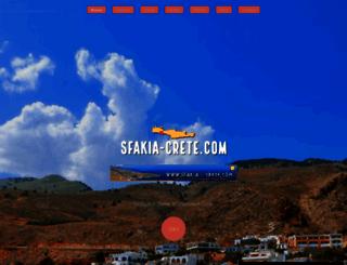 sfakia-crete.com screenshot