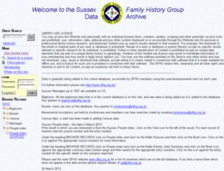 sfhg.frontisgroup.com screenshot