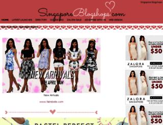 sgblogshopsreview.com screenshot