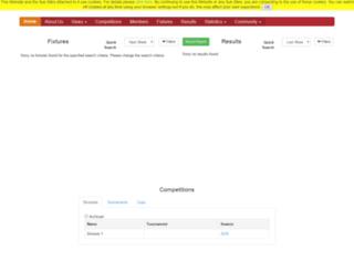 sgloswiltsvillage.play-cricket.com screenshot