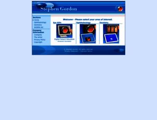 sgordon.com screenshot