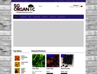 sgorganic.sg screenshot