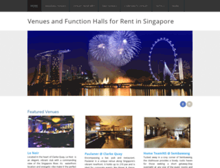 sgvenues.weebly.com screenshot