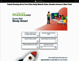 shaalaa.com screenshot