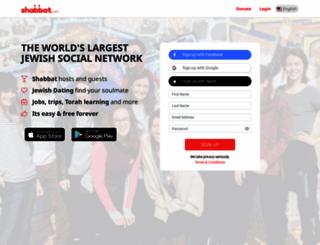 shabbat.com screenshot