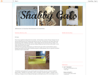 shabbygals.blogspot.de screenshot