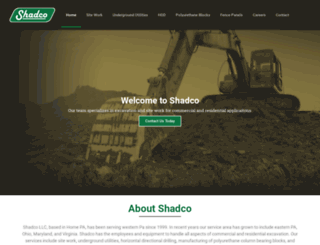shadco.com screenshot