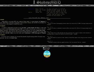 shadowmudii.genesismuds.com screenshot