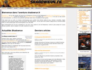 shadowrun.fr screenshot