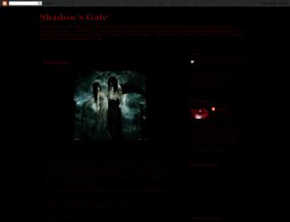 shadows-gate.blogspot.com screenshot