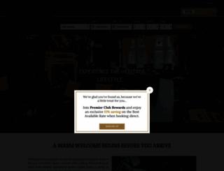 shaftesburyhotels.com screenshot