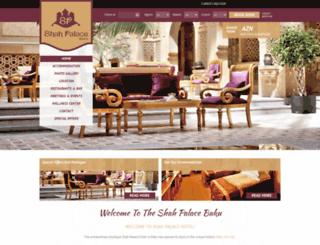 shahpalacehotel.com screenshot
