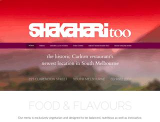 shakaharitoo.com.au screenshot