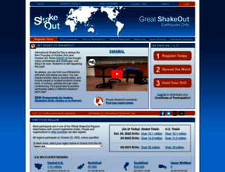 shakeout.org screenshot