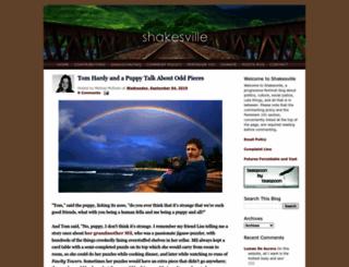 shakesville.com screenshot