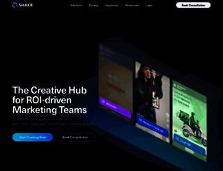 shakr.com screenshot