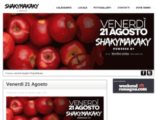 shakymakaky.com screenshot