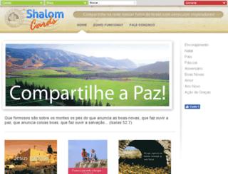 shalomcards.com.br screenshot