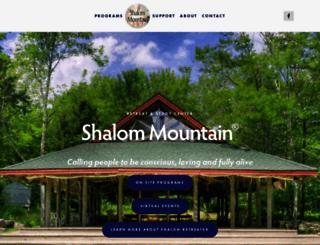 shalommountain.com screenshot