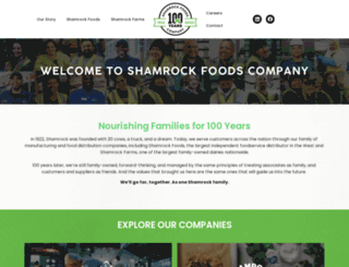 shamrockfoods.com screenshot