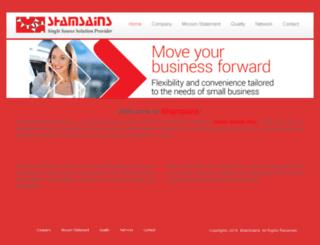 shamsains.com screenshot