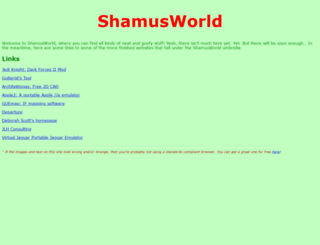 shamusworld.gotdns.org screenshot